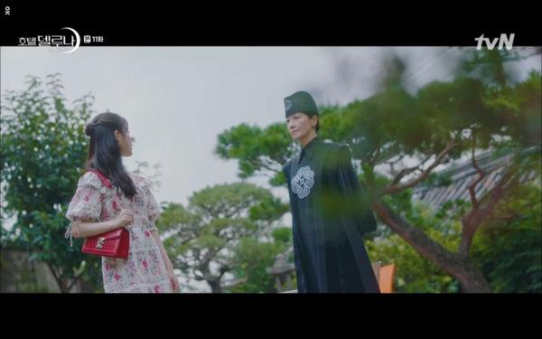 Phim Hotel Del Luna tập 11: IU bất ngờ bị thần chết hỏi thăm, Yeo Jin Goo gặp nguy hiểm khi đụng độ ác nhân - Hình 51