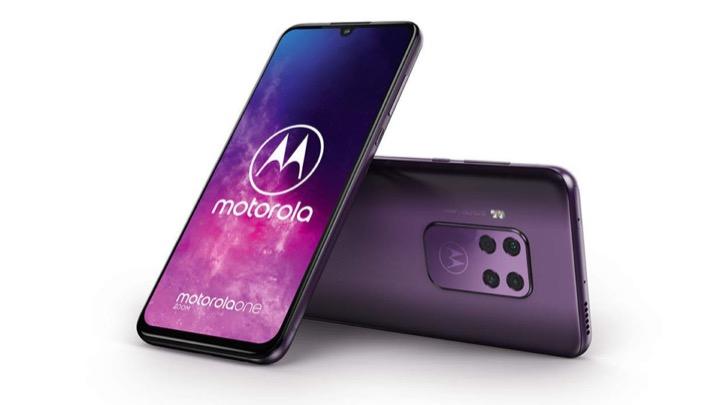 Motorola One Zoom lộ cấu hình, thiết kế với cụm 4 camera vuông - Hình 1