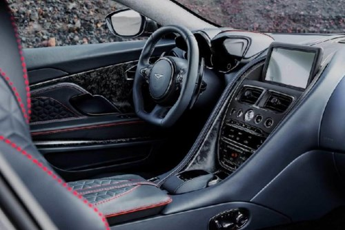 Vẻ đẹp tuyệt vời của siêu xe Aston Martin DBS Superleggera - Hình 5