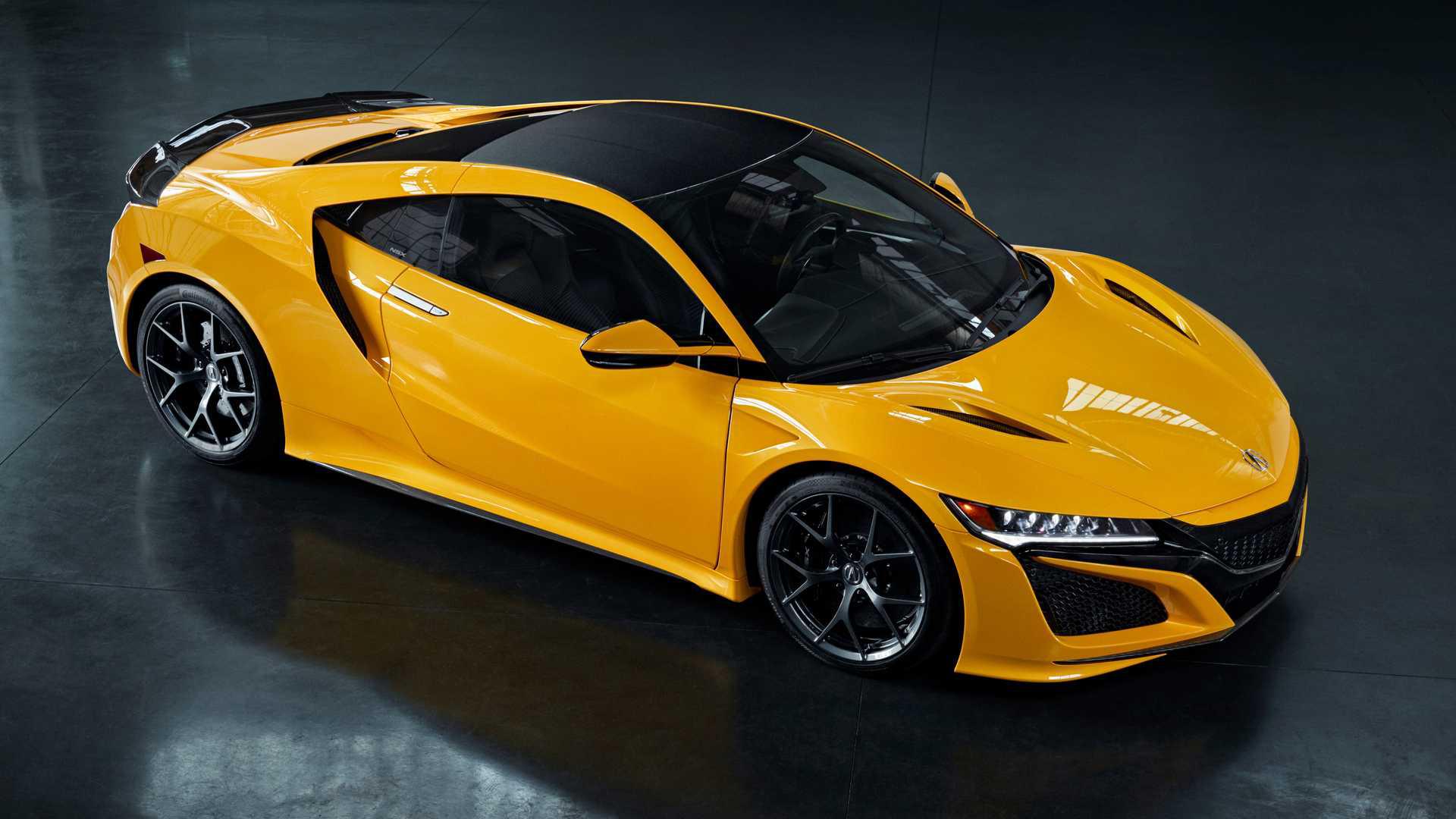 Acura ra mắt màu mới dành cho mẫu xe thể thao hybrid NSX - Hình 1