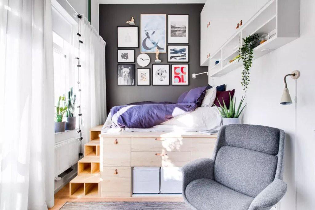 Bài trí ngôi nhà 34m² ở tầng một thành không gian sống lý tưởng có cả ban-công vô cùng thơ mộng và lãng mạn - Hình 5