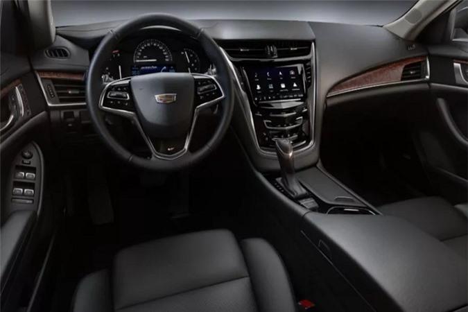 Cadillac CTS V-Sport 2019 cập bến Việt Nam, quyết đấu BMW 5 Series, Mercedes-Benz E-Class - Hình 6
