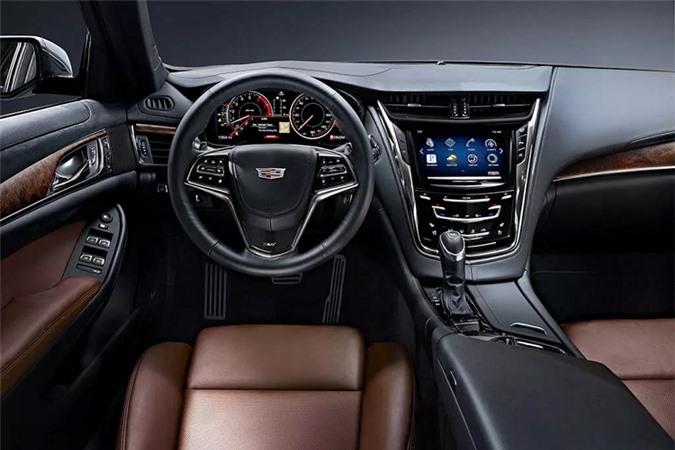 Cadillac CTS V-Sport 2019 cập bến Việt Nam, quyết đấu BMW 5 Series, Mercedes-Benz E-Class - Hình 4