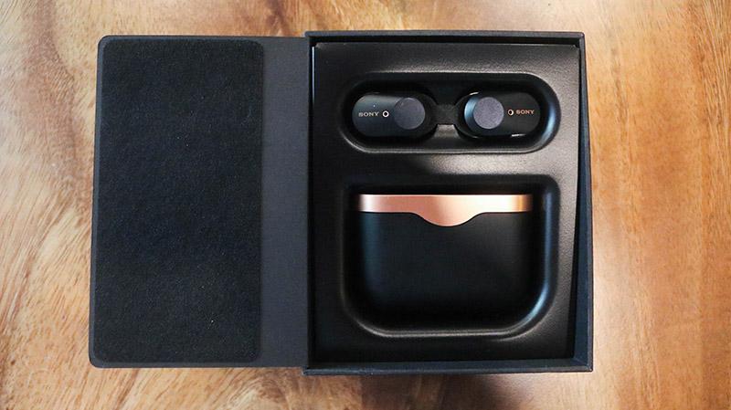 Đập hộp & đánh giá nhanh tai nghe không dây Sony WF-1000XM3: Thiết kế sang, ngầu, chống ồn cực tốt - Hình 4