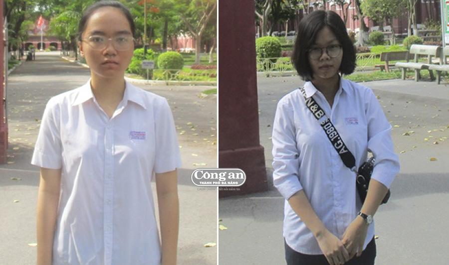 Nghị lực vượt lên số phận của 2 nữ sinh nghèo - Hình 1