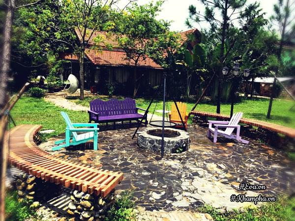 Nhà vườn thơ mộng 3000m² như resort của nữ biên tập viên VTV xinh đẹp - Hình 1