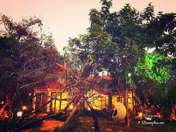 Nhà vườn thơ mộng 3000m² như resort của nữ biên tập viên VTV xinh đẹp - Hình 3