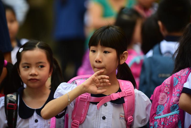 Nụ cười ngày tựu trường của học sinh TP.HCM - Hình 5