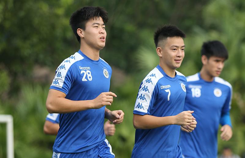 Quang Hải, Duy Mạnh sẵn sàng đấu tuyển Turkmenistan thu nhỏ - Hình 5