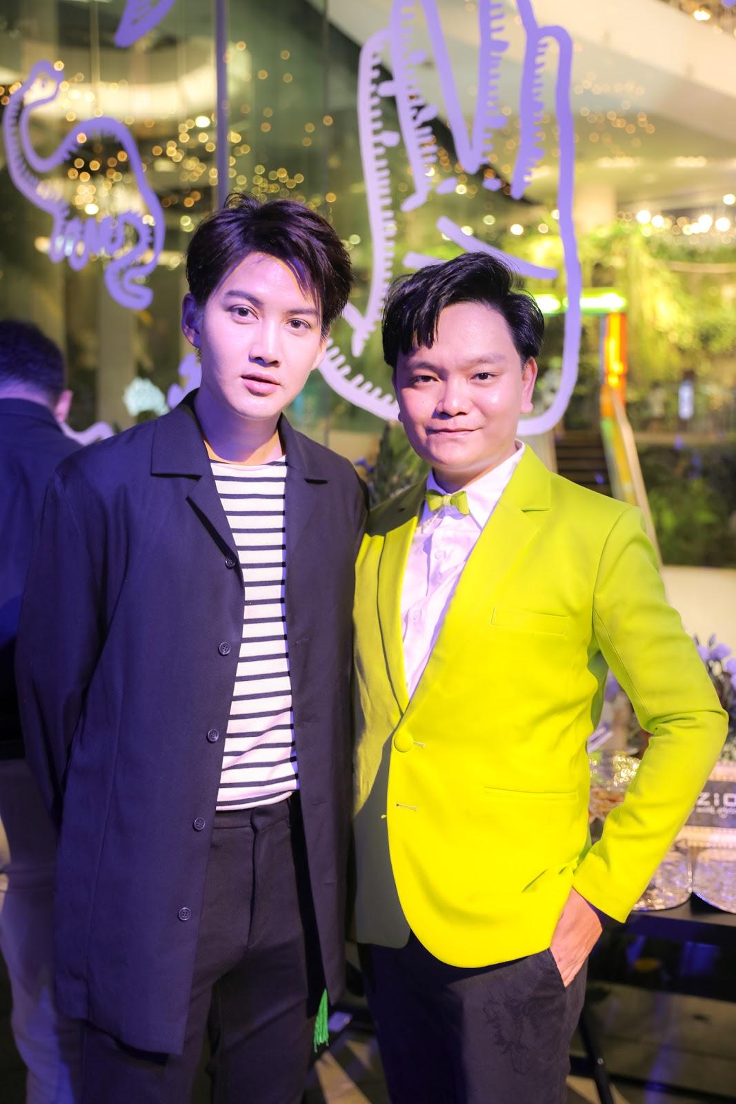 Trịnh Tú Trung hội ngộ với 'Nữ hoàng thị phi Thái Lan' tại 'đám cưới thế kỷ' của Dome Pakorn Lam và Metal Sukkhao - Hình 7