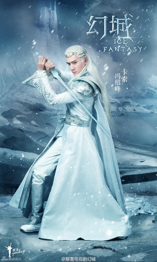 Trước Thượng Quan Thu Nguyệt Lý Hoành Nghị, những nam thần cổ trang tóc trắng nào đã từng khiến mọt phim mất máu? - Hình 4