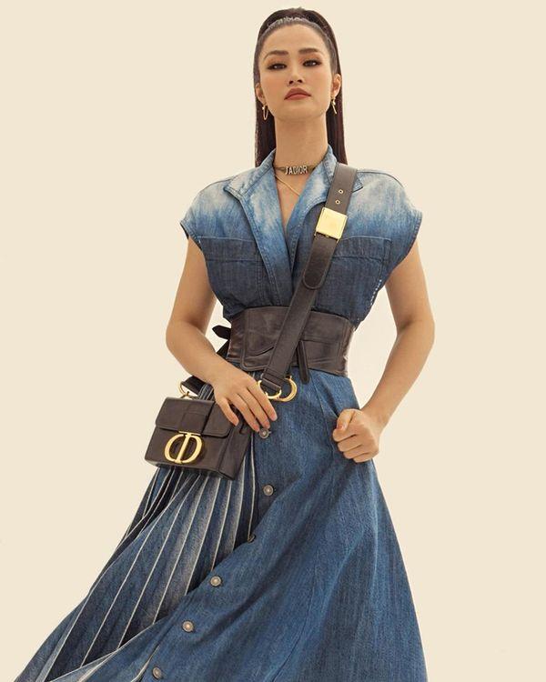 Trước khi lên xe hoa, Đông Nhi khiến khán giả trầm trồ khi hóa fashionista - Hình 2