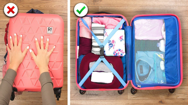 Xếp hành lý du lịch cũng là một nghệ thuật, liệu bạn đã biết hết những tuyệt chiêu pack đồ thông minh này chưa? - Hình 1