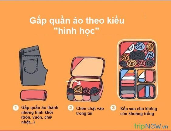 Xếp hành lý du lịch cũng là một nghệ thuật, liệu bạn đã biết hết những tuyệt chiêu pack đồ thông minh này chưa? - Hình 12