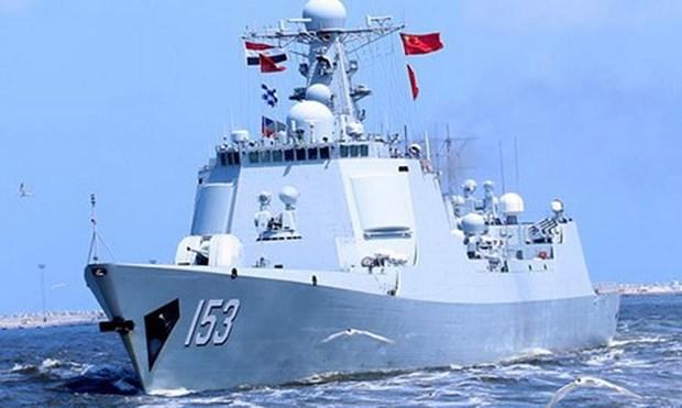 Ai Cập và Trung Quốc tập trận hải quân chung tại Địa Trung Hải - Hình 1