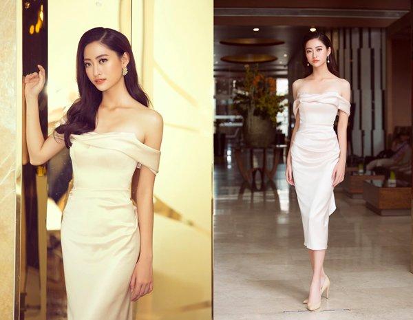 Bằng chứng cho thấy Hoa hậu Lương Thuỳ Linh đích thị là thiên thần áo trắng mới của Vbiz - Hình 6