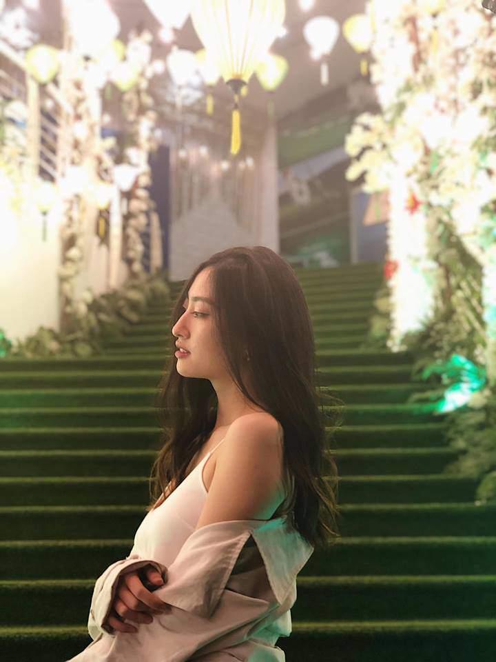 Bằng chứng cho thấy Hoa hậu Lương Thuỳ Linh đích thị là thiên thần áo trắng mới của Vbiz - Hình 11