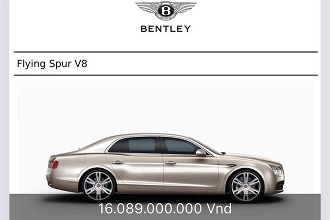Cận cảnh Bentley Flying Spur V8 hơn 16 tỷ tại Việt Nam - Hình 7