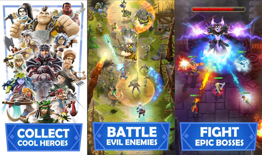 Darkfire Heroes - sản phẩm game mobile mới đến từ Wargaming - Hình 1
