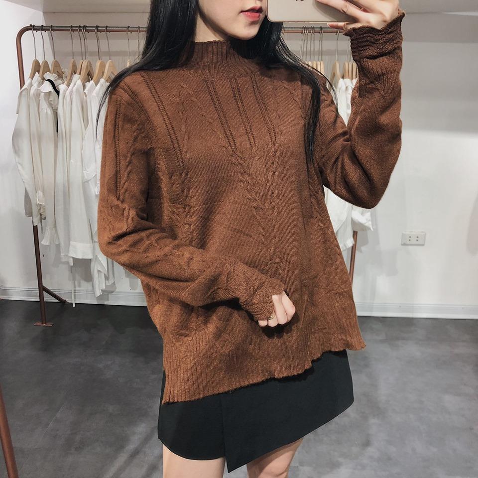Diện áo len chuẩn phong cách Hàn Quốc - Hình 1