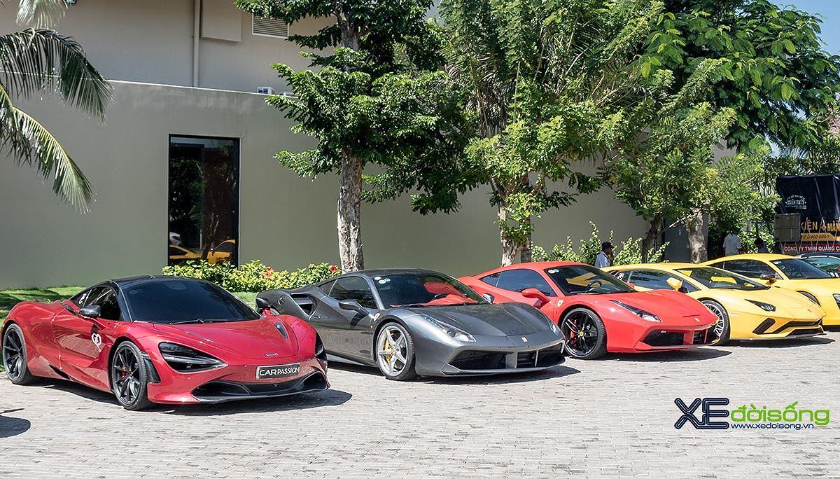 Dàn siêu xe đình đám hội ngộ mừng gặp mặt GiaLai Team và Car Passion Team - Hình 1