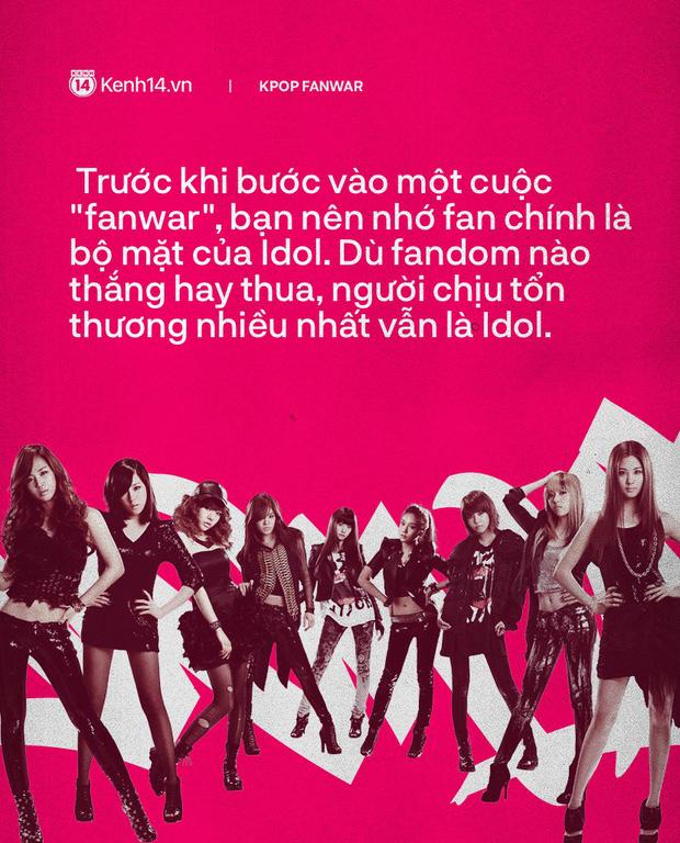 Fanwar - đặc sản đi qua năm tháng của fan Kpop: Cà khịa một chút thì vui, choảng nhau hỗn chiến chỉ đau idol - Hình 14