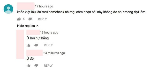 Dân tình phản ứng: Sản phẩm comeback của Khắc Việt gây thất vọng, Dương Hoàng Yến là cứu tinh của cả bài hát? - Hình 1