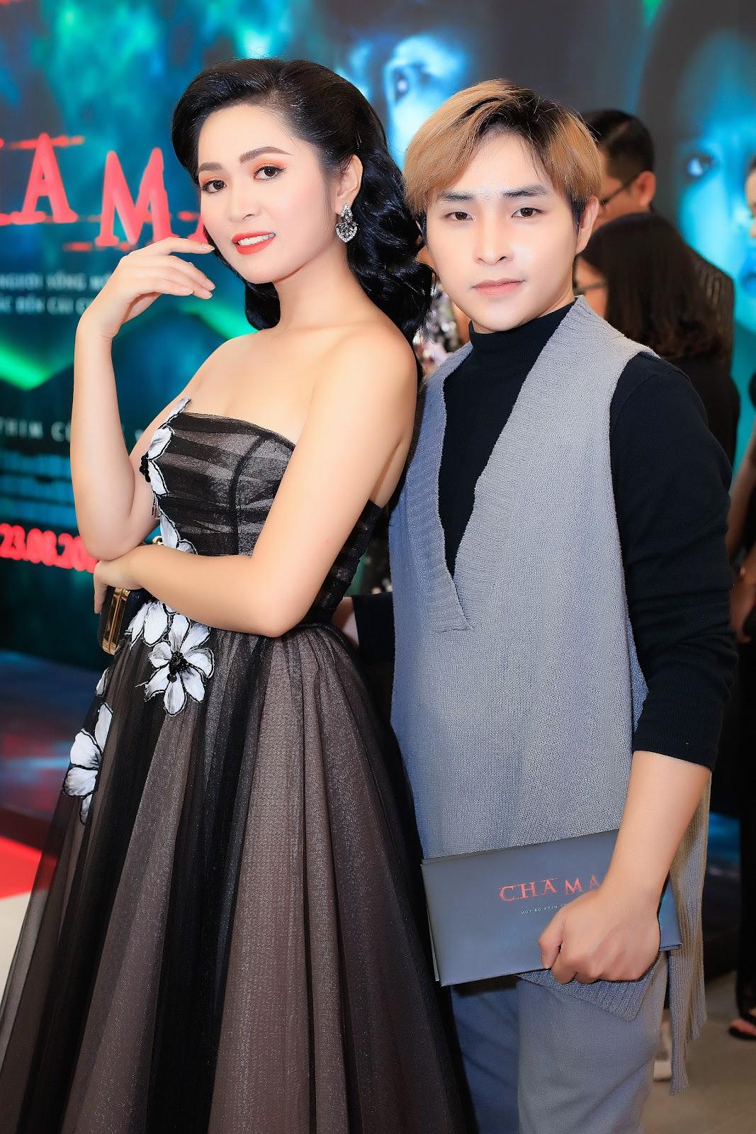 Nguyễn Duyên Quỳnh xuất hiện đầy thần thái, quyến rũ trên thảm đỏ của phim điện ảnh Cha Ma - Hình 7