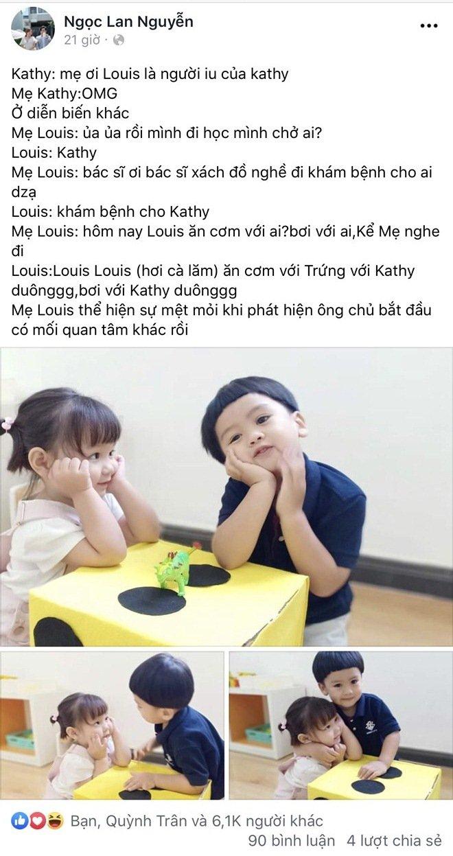 Những nhóc tỳ nhà sao Việt gây bão mạng xã hội, được yêu thích hơn cả bố mẹ - Hình 1