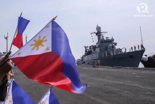 Philippines nhận tàu tuần tra hải quân mạnh nhất từ trước tới nay - Hình 1
