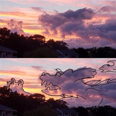 Sửng sốt với những chú thú biến hình trên bầu trời - Hình 4