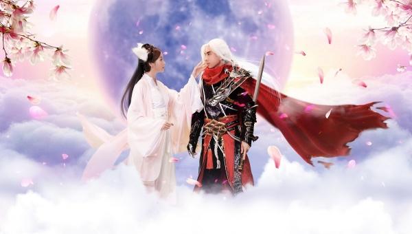 Ủng hộ Thiên Kiếm Mobile ra mắt chính thức 21/08, Đan Trường lên sóng với ảnh cosplay yêu như Thiên Kiếm - Hình 2