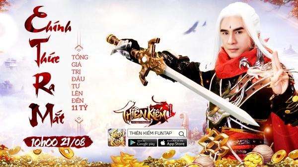 Ủng hộ Thiên Kiếm Mobile ra mắt chính thức 21/08, Đan Trường lên sóng với ảnh cosplay yêu như Thiên Kiếm - Hình 1