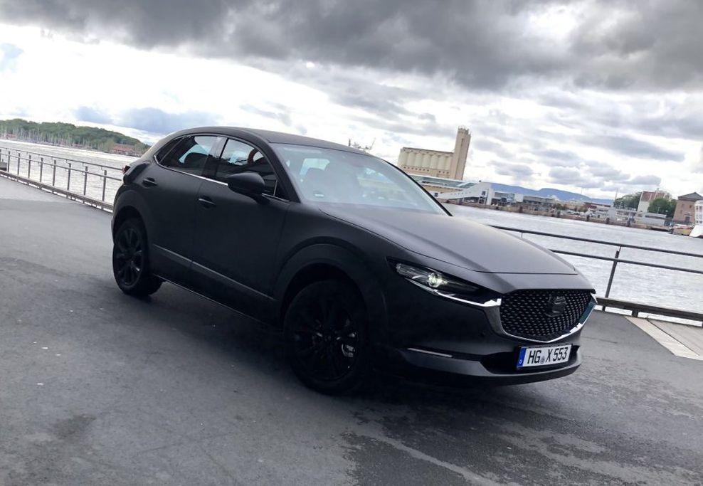 Xe điện Mazda lộ diện - Kỷ nguyên điện hoá với xe tầm trung chính thức bắt đầu - Hình 1
