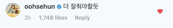 Bình luận 'trêu ghẹo' bản cover 'Love Shot' của biên đạo múa, Sehun (EXO) nhận cái kết thú vị không ngờ - Hình 2