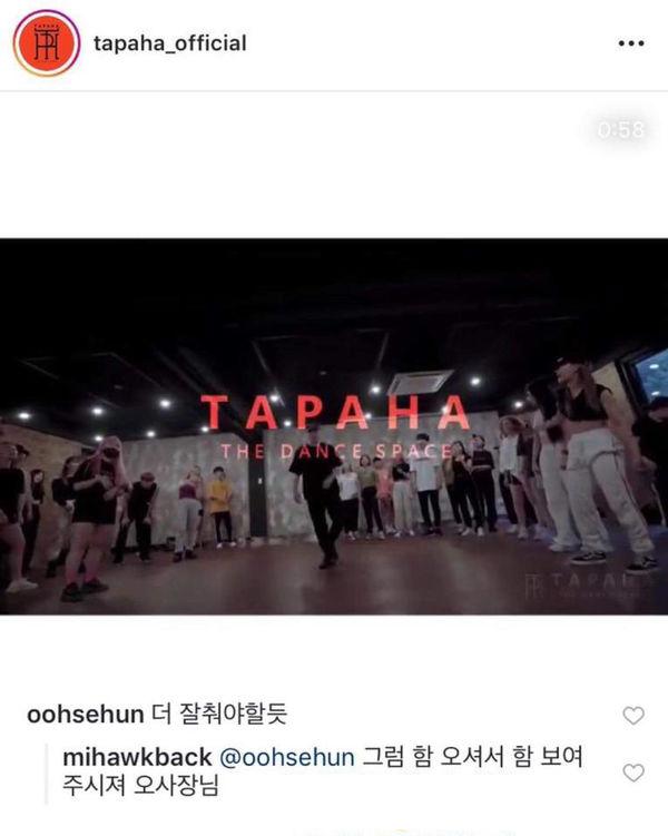 Bình luận 'trêu ghẹo' bản cover 'Love Shot' của biên đạo múa, Sehun (EXO) nhận cái kết thú vị không ngờ - Hình 3