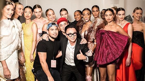 Công Trí lần thứ 2 trở lại New York Fashion Week - Hình 1