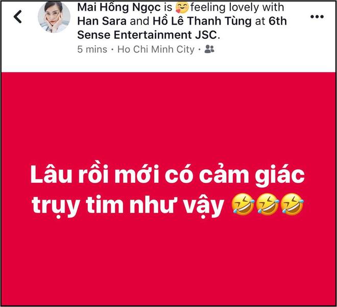 Han Sara và Tùng Maru (Uni5) tiết lộ đã thành đôi sau thời gian được ship nhiệt tình, sẵn sàng hôn má chứng minh tình cảm - Hình 2