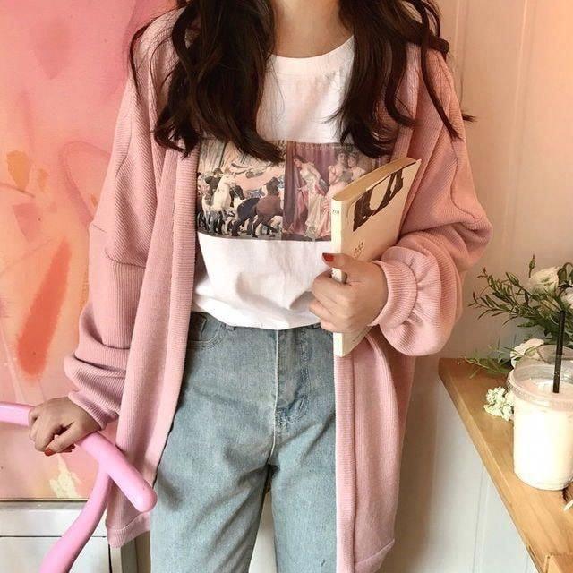 Hoá nàng thơ với áo len hồng pastel mùa đông này - Hình 2
