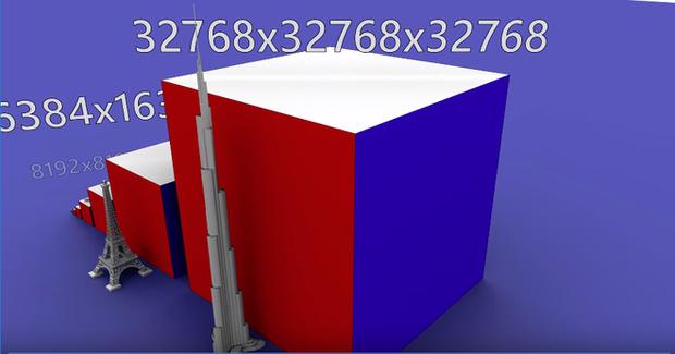 Xem máy tính xoay Rubik khổng lồ hoa cả mắt: 6 tỷ ô màu, cao ngang tòa Burj Khalifa, tốn 2706 tiếng để giải - Hình 2