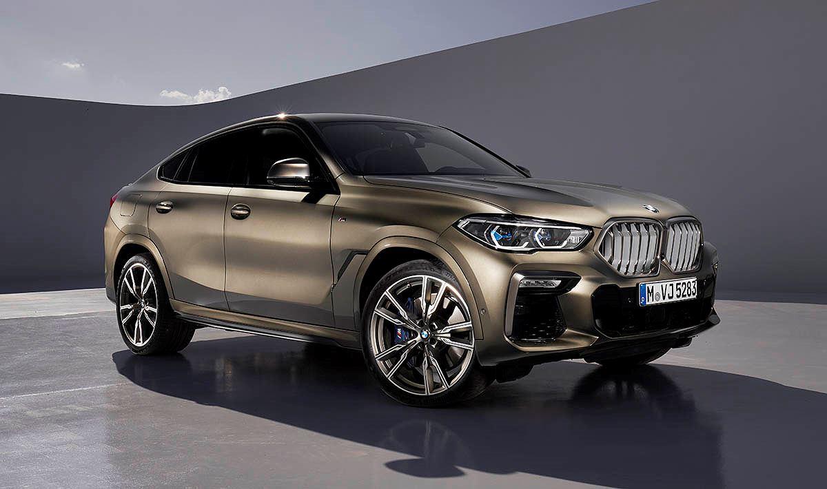 Chi tiết SUV Coupe BMW X6 2020 thế hệ mới vừa trình làng - Hình 12