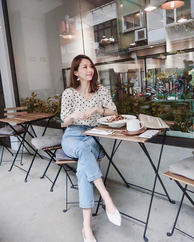 Để tránh bị chê không ra thể thống gì khi diện quần jeans đi làm, nàng công sở chỉ cần nhớ đúng 4 tips - Hình 9