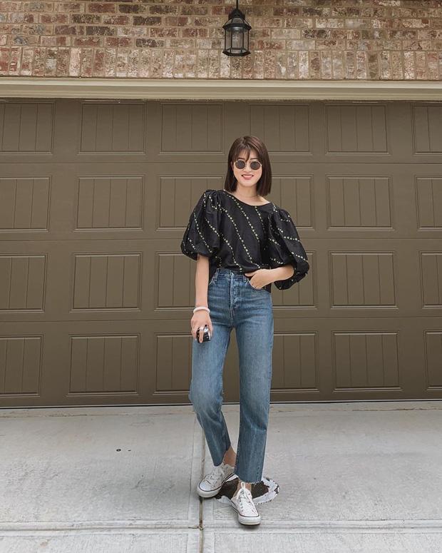 Để tránh bị chê không ra thể thống gì khi diện quần jeans đi làm, nàng công sở chỉ cần nhớ đúng 4 tips - Hình 4