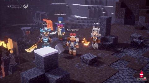 [Gamescom 2019] 13 phút gameplay của Minecraft: Dungeons, con lai giữa Minecraft và Diabo - Hình 3