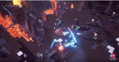 [Gamescom 2019] 13 phút gameplay của Minecraft: Dungeons, con lai giữa Minecraft và Diabo - Hình 2