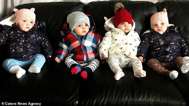 Bất chấp lời khuyên của bác sĩ để giữ lại cả 4 thai, bà mẹ phải đối mặt với những khủng hoảng hạnh phúc sau sinh - Hình 12