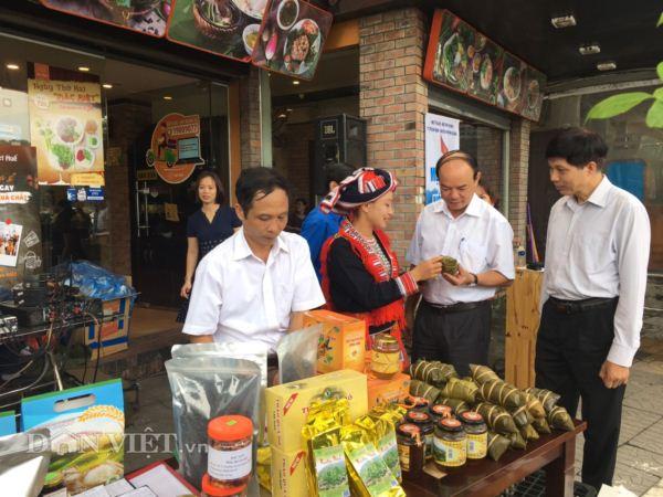 Hội Nông dân Hà Giang đưa đặc sản cao nguyên đá về Thủ đô - Hình 3
