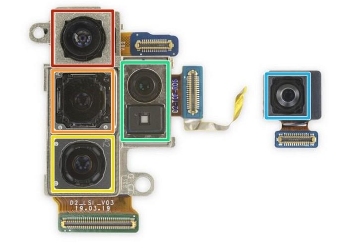 Mổ bụng Galaxy Note 10 plus 5G: chiếc Galaxy khó sửa nhất hiện nay, mạch lớp giống iPhone - Hình 7