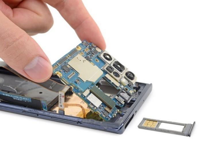 Mổ bụng Galaxy Note 10 plus 5G: chiếc Galaxy khó sửa nhất hiện nay, mạch lớp giống iPhone - Hình 5
