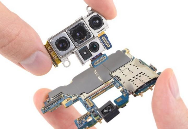 Mổ bụng Galaxy Note 10 plus 5G: chiếc Galaxy khó sửa nhất hiện nay, mạch lớp giống iPhone - Hình 6